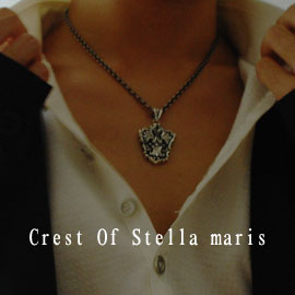 ≪cooldust≫crest of stella maris ペンダントトップ CD-021
