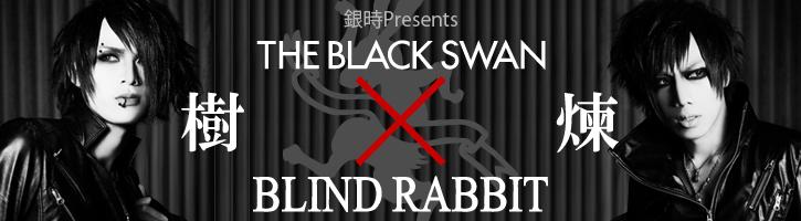 Blackswan×BLINDRABBITコラボアクセサリー 銀時TOPバナー